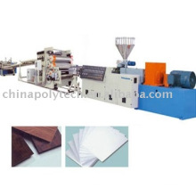 PC/PVC/PMMA/PP/PE Plate/Sheet extrusion line