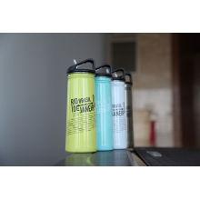 Edelstahl Single Wall Outdoor Sports Wasserflasche Ssf-780 Kolben