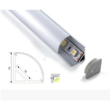 Extrusão de LED Perfil Alu & perfil de alumínio V para LED Strip