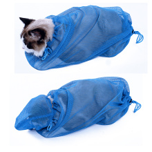 Pet Cat Shower Bath Bag Cat Grooming No Scrathcing Bag For Cat