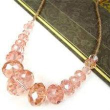 floating crystal crafts necklace