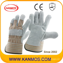 Industrial Safety Cowhide Leather Work Gloves (110073)