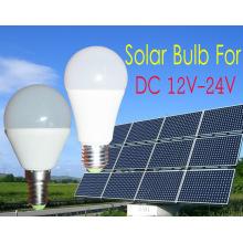 Lanternes solaires avec l'ampoule solaire de bougie de LED pour DC12V-24V
