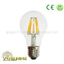 Bulbo claro do filamento do diodo emissor de luz da luz do trabalho da luz E27 220V do dimetro de 5W A60