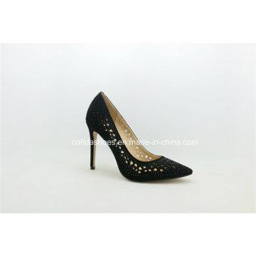 Fashion Diamonds High Heels Lady Wedding Shoes