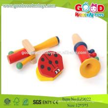 2015 Instrumento musical educacional de madeira popular Brinquedos infantis, conjunto de brinquedos de música