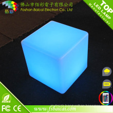 LED Furniture RGB LED Cube Table Light/ RGB Decorative LED Cube Light RGB Outdoor Seat LED Cube