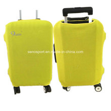 Popular Air Layer Fabric Yellow Luggage Cover with Custom Logo (SNLC04)