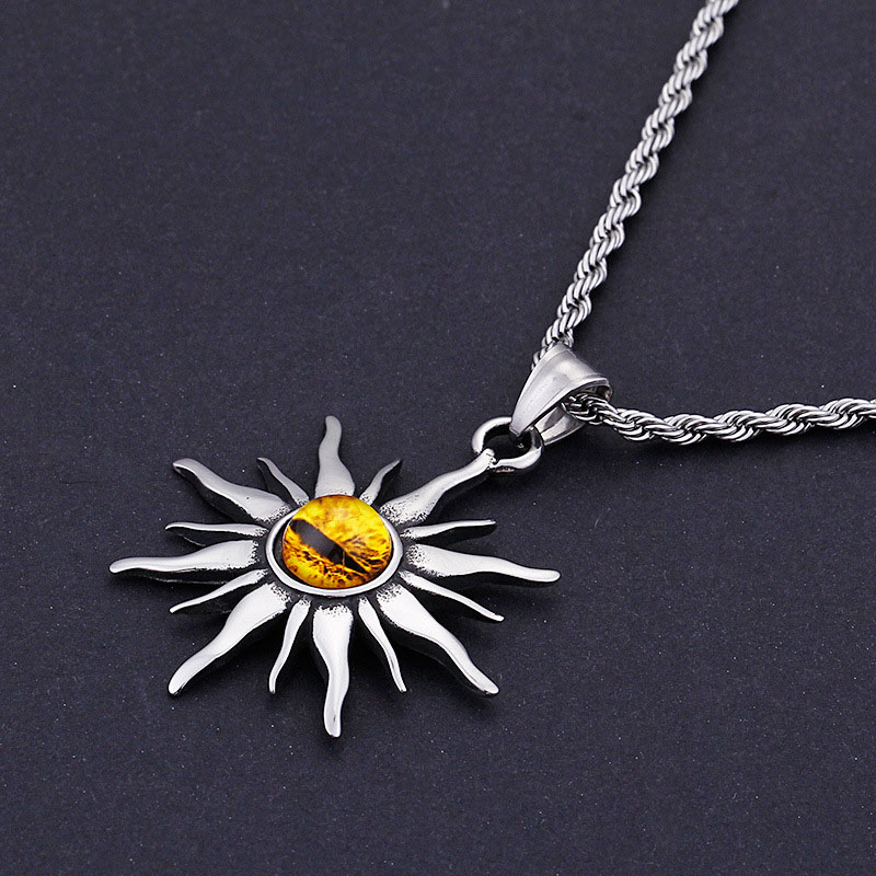 Mens Evil Eye Necklace