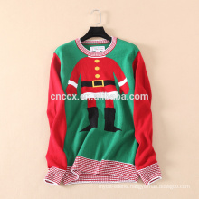 16JW6110 adult Christmas sweater