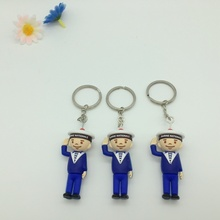 Silicone 3D Cartoon Keychains