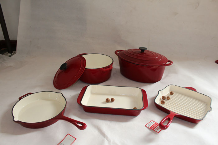 Heavy Duty Cast Iron Cookware Set