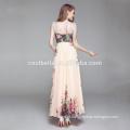 Vestido de casamento de moda Vestido de alpendre com renda