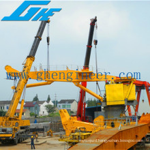 Large Load Hydraulic Knuckle Boom Port Crane,On Sale