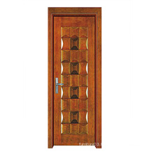 Hot Sale High Quality Solid Wood Door with Fashion Design (SW-819)