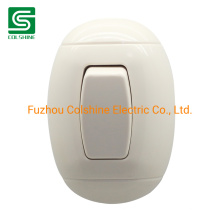 Plastic Light Switch Electrical Wall Push Switch