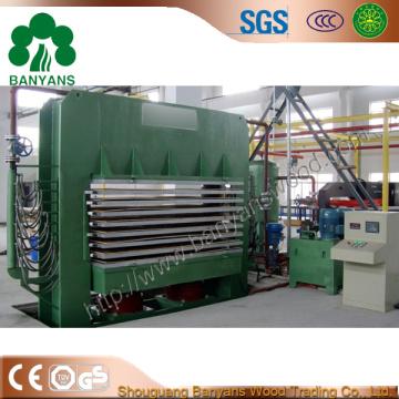 Hot Press Machine pour la fabrication de contreplaqué / contreplaqué de film Facd