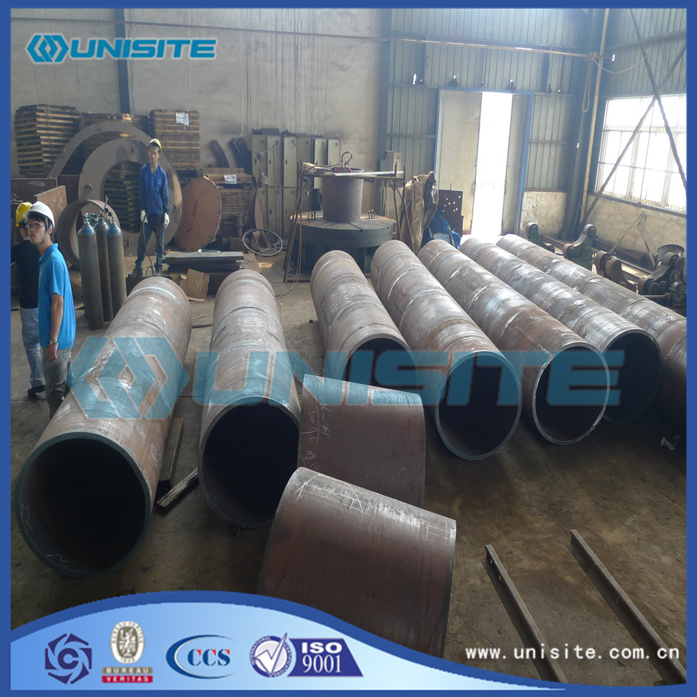 Thick Steel Wear Resistant Pipes Size for sale