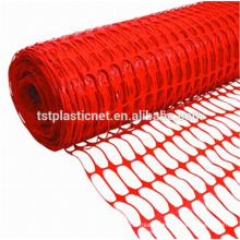 Mixed Material Orange Plastic Safety Fence