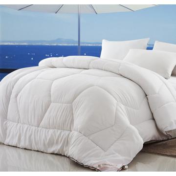 100 % polyester Soft brossé massif imprimé Comforter Set