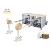 Máquina de fabricación de cuerdas de papel para bolsas portadoras