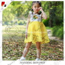 Wholesale boutique smocked dress for kids