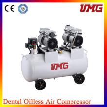 2 * 850 Вт Мощность Высокая производительность Стоматологический компрессор воздуха