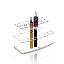 Pantalla transparente de acrílico de la exhibición de la posición / E-Cigarrillo