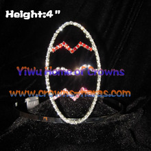 Crystal Rhinestone Easter Egg Crowns