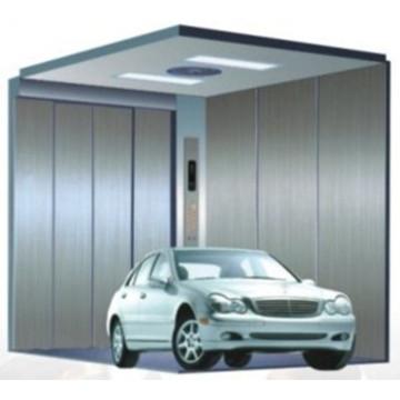 Stainless Steel Machine Room Electric Garage Car Elevator