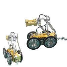 Robot de detección de aguas residuales Control remoto Cable Puller