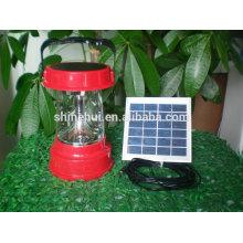 Buena calidad Precio competitivo 2W pequeña luz solar portable del LED con el sensor de movimiento