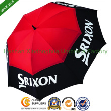 "68"" Arc Large Vented Personalized Golf Umbrellas (GOL-0034FD)"