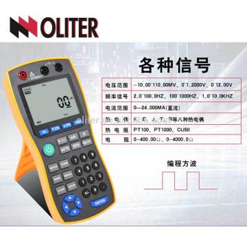 RTD thermocouple 4 20ma température calibrateur multifonction