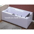 Baignoire de massage en polyéthylène acrylique blanc acrylique (OL-669)