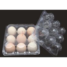 2/4/6/8/10/12/15/18/24/30 Holes bandeja de huevos de plástico desechable (contenedor de huevo de PVC)