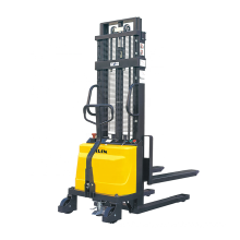 Xilin 1 ton Warehouse pallet lifting device semi electric walkie stacker forklift