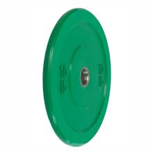 15kg20kg25kg Fitness Weightlifting Rubber Bumper Plates