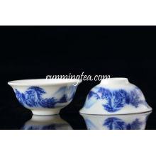 Paisagem cerâmica Pu Er copo de chá