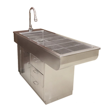 Chinese manufacturer veterinary equipment multifunctional pet disposal table