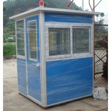 Сторожевая будка из легкой стальной сборной высококачественной охранной комнаты для продажи