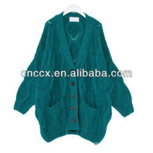 13STC5396 lady cashmere cardigan sweater