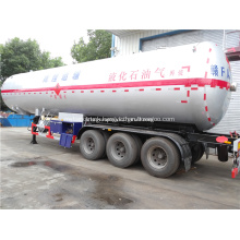60 CBM LPG Gas Tank Semi Trailer