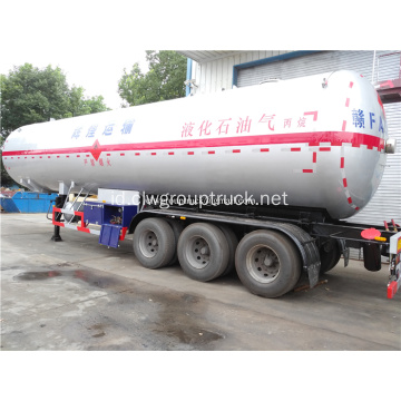 60 CBM LPG Tangki Gas Trailer Semi