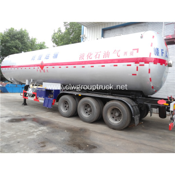 60 CBM LPG Gas Tank Semi Trailer