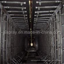 Máquina retificadora de galvanoplastia com tratamento de pulverização