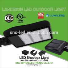 O UL ultra magro DLC alistou a luz de Shoebox do diodo emissor de luz 150w com 5 anos de garantia