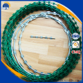 Galvanized razor wire razor barbed wire