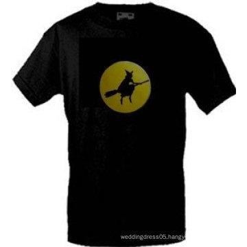 [Stunningl]Wholesale fashion hot sale T-shirt A77,el t-shirt,led t-shirt