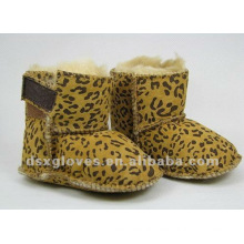 leopard baby winter shoes
